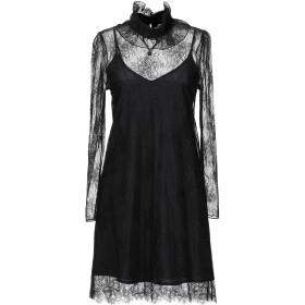 《セール開催中》BLUGIRL BLUMARINE レディース ミニワンピース&ドレス ブラック 38 ポリエステル 100%