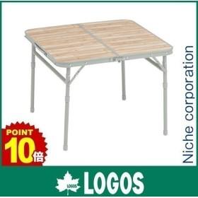 キャッシュレスポイント還元 ロゴス テーブル Life テーブル 6060 アウトドア 机 折りたたみ