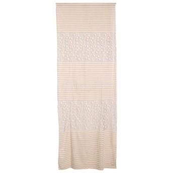 高品質 ドアカーテン カーテン 装飾 窓 部屋 ボイルカーテン 葉パターン