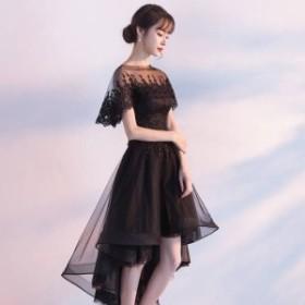 パーティードレス 結婚式 二次会 ワンピース 結婚式 お呼ばれドレス ドレス 結婚式 お呼ばれ 黒 レース ワンピース レース 結婚式 ドレス