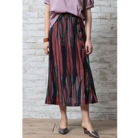 OandI / OandI/オーアンドアイ 幾何学柄フレアースカート