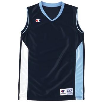 【予約商品】ジュニア ゲームシャツ BASKETBALL チャンピオン(CBYR2032)【5400円以上購入で送料無料】