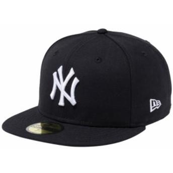 【新品】 【再入荷】 ニューエラ 5950キャップ ホワイトロゴ ニューヨークヤンキース ブラック ホワイト New Era NewEra