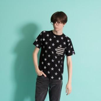 リバースウィーブポケット付きTシャツ 19SS リバースウィーブ チャンピオン(C3-F310)【5400円以上購入で送料無料】