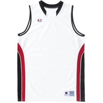 【予約商品】ガールズ ゲームシャツ BASKETBALL チャンピオン(CBGR2033)【5400円以上購入で送料無料】