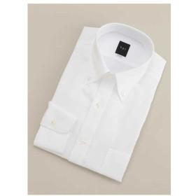 bgr / 【BGR Slim-fit】ボタンダウンホワイトダイヤドビードレスシャツ