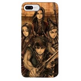 iPhone8Plus/7Plus対応 ウッドケース キングダム×Gizmobies/Shinkoku Wood IP78Plus お取り寄せ