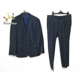 ハイストリート HIGH STREET シングルスーツ サイズLL メンズ 黒×ブルー   スペシャル特価 20190428