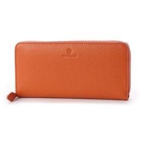 ビアンキ Bianchi ラウンドロングウォレット (orange)