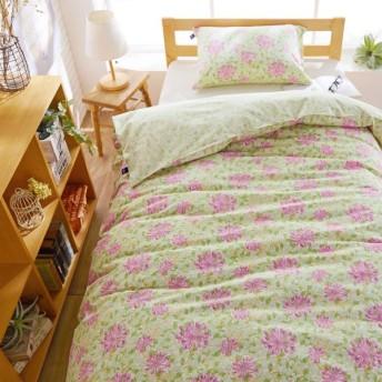 布団カバー 掛け布団カバー 綿100%の掛け布団カバー/V&A カラー 「ピンク」