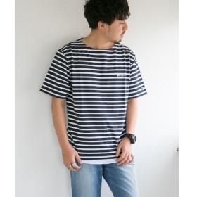 [マルイ]【セール】メンズTシャツ(Champion 別注ボーダー刺繍バスクシャツ)/アーバンリサーチ サニーレーベル(メンズ)(URBAN RESEARCH Sonny Label)