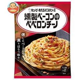 【送料無料】キューピー あえるパスタソース 燻製ベーコンのペペロンチーノ (25.9g×2袋)×6袋入