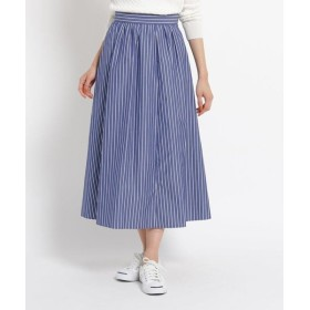 Dessin / デッサン 【洗える】ストライプコットンスカート