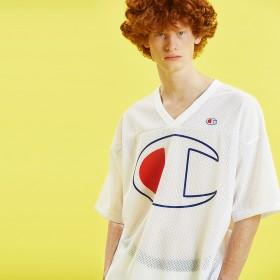 フットボールTシャツ 19SS【春夏新作】アクションスタイル チャンピオン(C3-P308)【5400円以上購入で送料無料】