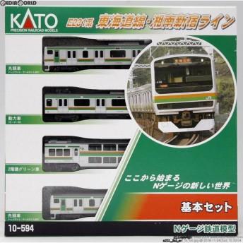 『新品即納』{RWM}(再販)10-594 E231系 東海道線・湘南新宿ライン 基本4両セット Nゲージ 鉄道模型 KATO(カトー)(20190706)