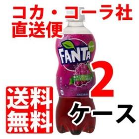 ファンタ グレープ 500ml ペットボトル 【 2ケース × 24本 合計 48本 】 送料無料 cola
