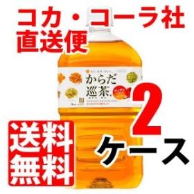 からだ巡茶 1.0L ペットボトル 【 2ケース × 12本 合計 24本 】 送料無料 cola