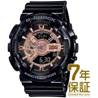【正規品】CASIO カシオ 腕時計 GA-110MMC-1AJF メンズ G-SHOCK Gショック BLACK & ROSE GOLDシリーズ クォーツ
