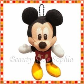 ミッキーマウス ぬいぐるみ ストラップキーチェーン ディズニー お土産【東京ディズニーリゾート限定】
