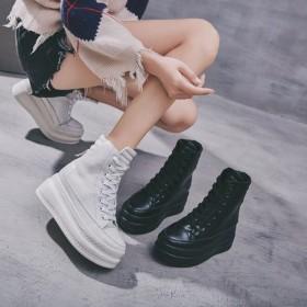 スニーカー ハイカット スニーカー レディースシューズ 厚底スニーカー レディース 靴 ハイカット ファッション 韓国