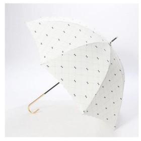 ダブリュピーシー w.p.c 雨傘 クロスステッチリボン (オフホワイト)
