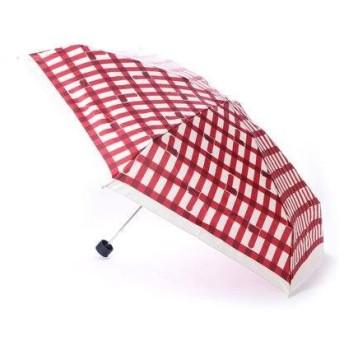 ダブリュピーシー w.p.c 雨傘 トリチェックmini (レッド)