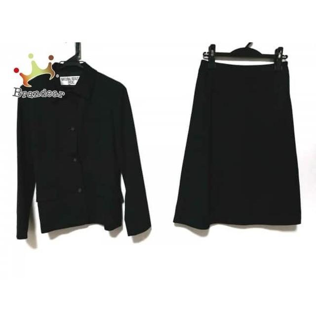 4910d94ea0e1 ナチュラルビューティー ベーシック スカートスーツ サイズM レディース 黒 スペシャル特価 20190516
