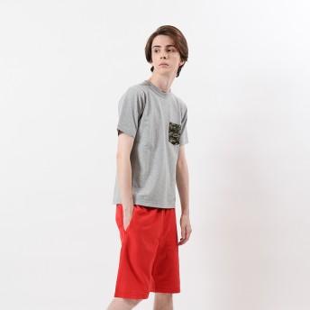 リバースウィーブポケット付きTシャツ 19SS リバースウィーブ チャンピオン(C3-B369)【5400円以上購入で送料無料】
