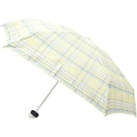 HusHusH(Ladies)(ハッシュアッシュ(レディース)) 【晴雨兼用】チェック柄折り畳み傘(because)