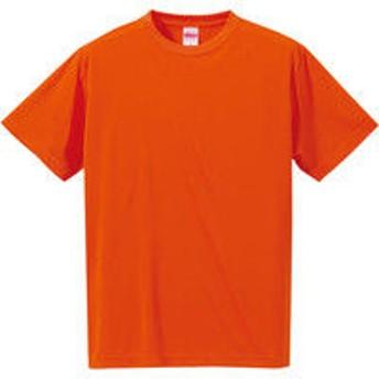 4.7オンス ドライシルキータッチTシャツ 男女兼用 オレンジ XXL 5088-01(直送品)