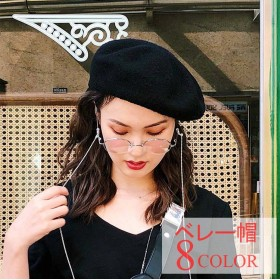 レディースファッション 帽子 ベレー帽 女性 小物 コールテン 無地 シャーベットカラー フルカラー 可愛い モコモコ ふっくら 韓国風