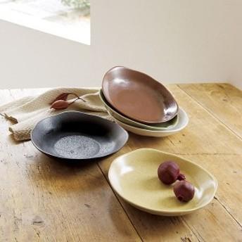 美濃焼 あじわい カレー皿5枚揃(日本製 和食器)