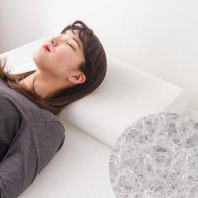 まくら E-CORE 両端硬めまくら くぼみあり 高反発 洗える 寝具 アトピー 快眠 安眠 枕 ピロー