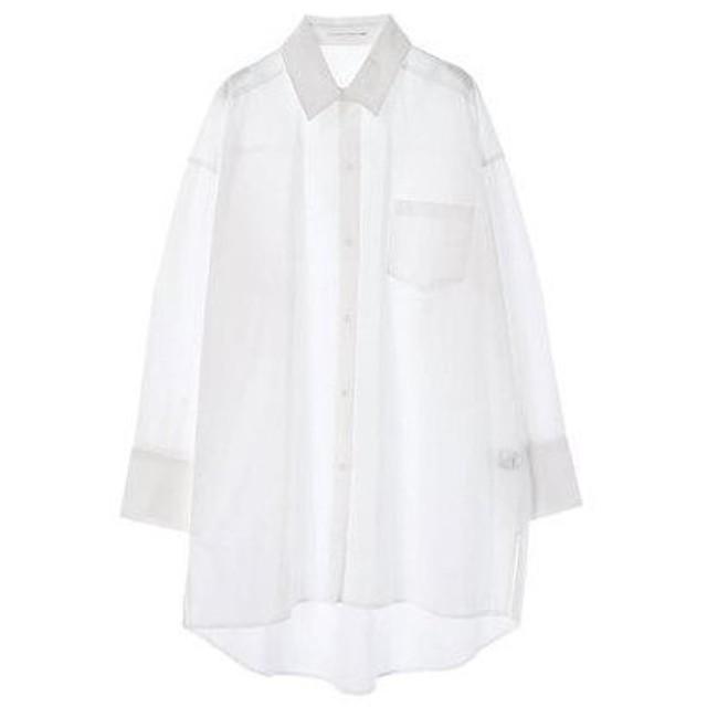 イーハイフンワールドギャラリー E hyphen world gallery ブロードビッグシャツ (Off White)