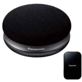 パナソニック Bluetooth対応ポータブルワイヤレススピーカーシステム(ブラック) Panasonic SC-MC30-K 返品種別A