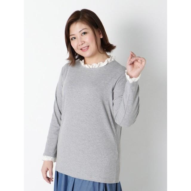 bi abbey -days- ビ アビー デイズ レースフリルTシャツ