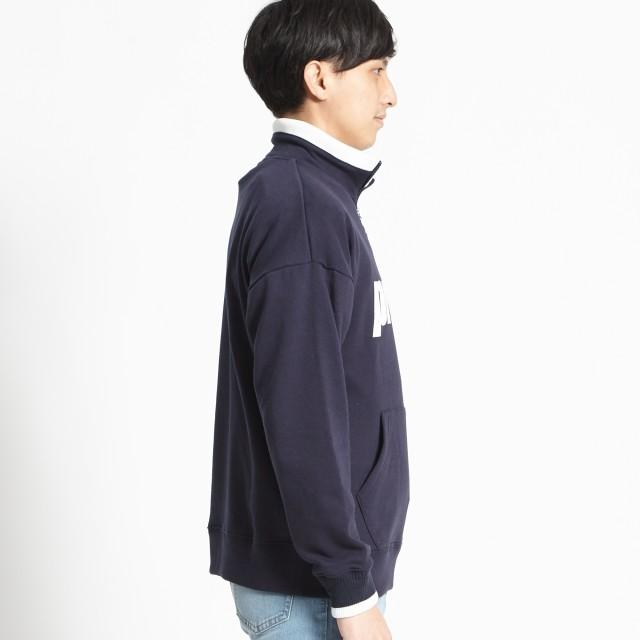 スウェット・ジャージ - WEGO【MEN】 prince別注ハーフZIPプルオーバー PH3016