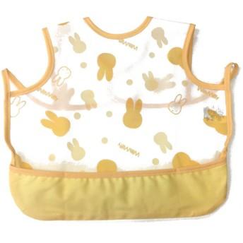 袖なしエプロン ミッフィー クリーム 育児用品 お食事用品 エプロン (99)