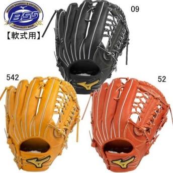 軟式用 ミズノプロ フィンガーコアテクノロジー岡島型:サイズ17N※グラブ袋付 MIZUNO 野球 軟式用グラブ 19SS(1AJGR20207)