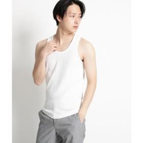 THE SHOP TK / ザ ショップ ティーケー 【抗菌防臭】リブタンクトップ