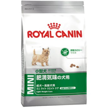 ロイヤルカナン SHN ミニライトウェイトケア 4kg