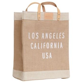 【アポリス(APOLIS)】 ◆◆ロサンゼルス マーケットバッグ ベージュ