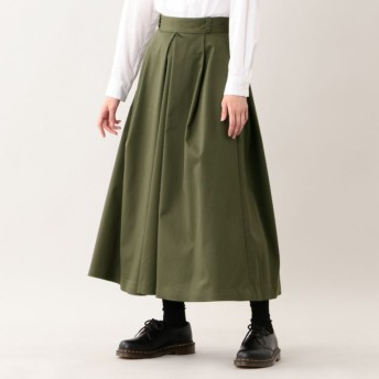 SALE【エムピー ストア(MP STORE)】 ハイカウントロングスカート カーキ