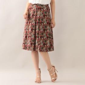 SALE【アマカ(AMACA)】 Amelia's Rose Gardenタックスカート カーキ