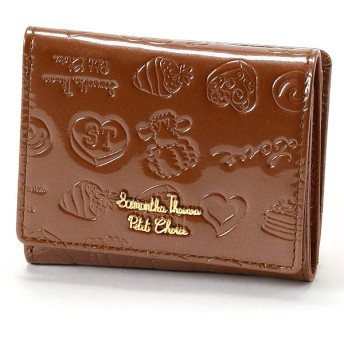 [マルイ]【セール】Lara Collection ベルギーシリーズ エナメル ミニ財布/サマンサタバサプチチョイス(Petit Choice)