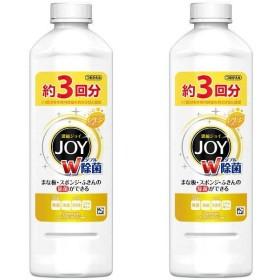 除菌ジョイコンパクト JOY スパークリングレモンの香り 詰め替え 440mL 1セット(2個入) 食器用洗剤 P&G