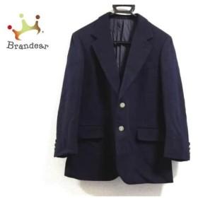 イヴサンローラン YvesSaintLaurent ジャケット メンズ ネイビー 冬物/ネーム刺繍   スペシャル特価 20190425