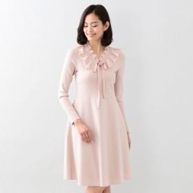 SALE【トゥー ビー シック(TO BE CHIC)】 ミッションダブルクロスコンビドレス ピンク