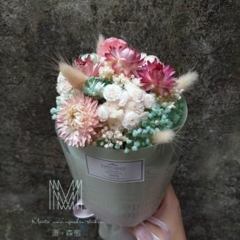 【漫。森態】ドライフラワー花束/卒業式/記念日