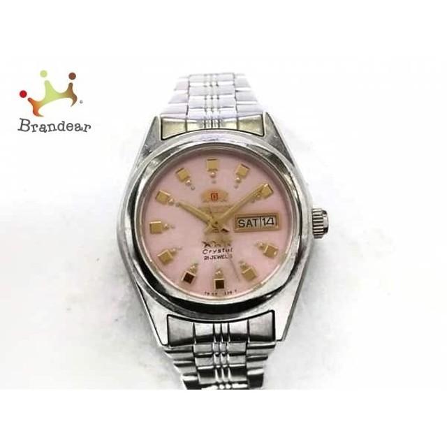 2bc3c87c03 オリエント ORIENT 腕時計 スリースター NQ1X-Q1 レディース ピンク スペシャル特価 20190606